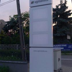 pylon reklamowy Poznań