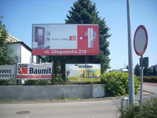 tablica reklamowa Poznań