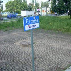 tablice parkingowe