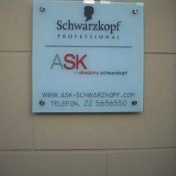 tabliczka z plexi Poznań