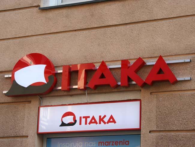 litery podświetlane Poznań