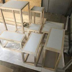 kubiki drewniane