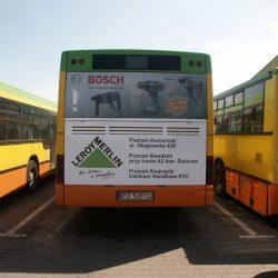 oklejanie autobusów leroy