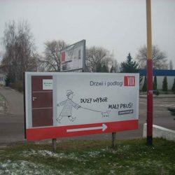 tablice informacyjne Poznań