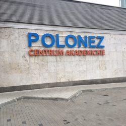 litery przestrzenne podświetlane Poznań