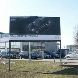 plansze reklamowe Poznań