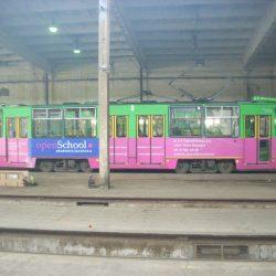grafika na tramwajach