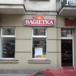 szyld podświetlany Poznań