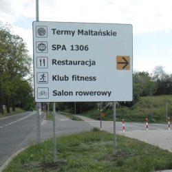 tablice kierunkowe Poznań