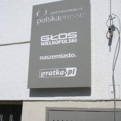 kaseton reklamowy głos Poznań