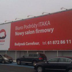 banery reklama wielkoformatowa Poznań