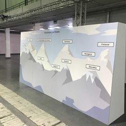 ścianki ekspozycyjne