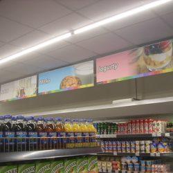 oznakowanie kategorii w sklepie