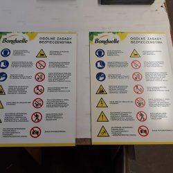 tablice regulaminowe